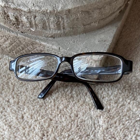 Gucci Brown Tortoise Shell Glasses 135 GG 1165 086